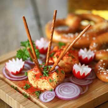 Bayerische Brotzeit - Zutaten und Rezepte für die Brotzeitplatte